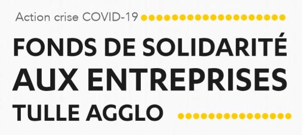 Tulle Agglo Fonds de Solidarité aux entreprises